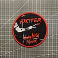Exciter - Patch - Exciter - Heavy Metal Maniac