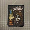 King Diamond - Patch - King Diamond - The Dark Sides (vintage style)