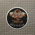 Obituary - Patch - Obituary - Inked in Blood