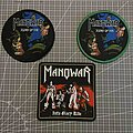 Manowar - Patch - Manowar patches for Stratozid