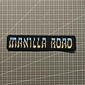 Manilla Road - Patch - Manilla Road embroidered logo
