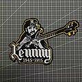 Motörhead - Patch - Motorhead - Lemmy Embroidered