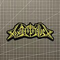Toxic Holocaust - Patch - Toxic Holocaust embroidered logo