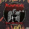 Blasphemy - Patch - Blasphemy Fux Leather Backpatch