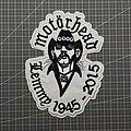 Motörhead - Patch - Motörhead - Lemmy Embroidered