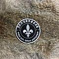 Métal Noir Épique Patriotique Circle Patch