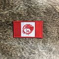 Canadian Flag Whip Hand Patch