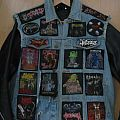 Death/Thrash denim vest/battle jacket