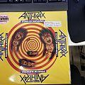 Anthrax State of Euphoria LP w/ Hologram Sticker Tape / Vinyl / CD / Recording etc