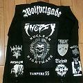 Black Metal Punk jacket !!