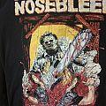 "Agoraphobic Nosebleed ""bizarre and brutal grind"" shirt"