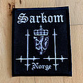 """Sarkrom """"Norge"""" patch"""