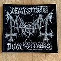 "Mayhem ""De Mysteriis Dom Sathanas"" patch"
