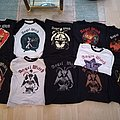 Angel Witch shirts full collection so far...