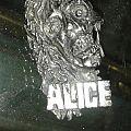 Alice Cooper Rare Pin/Badge 1989 Official Pin / Badge