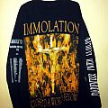 Immolation - TShirt or Longsleeve - Immolation Darkness Over Europe Tour 2001