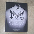 Mayhem - the death archives book 1st edit hardcover