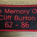 Cliff Burton - Patch - cliff burton patch