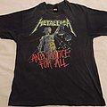 Original Metallica And justice for all shirt