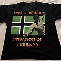 Type O Negative Liberation of Vinnland Euro tour TShirt or Longsleeve