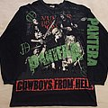 Original Cowboys from hell all over print longsleeve  TShirt or Longsleeve