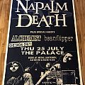 Napalm Death Australian tour poster Other Collectable