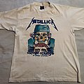 Original Metallica Crash course in brain surgery 1987 TShirt or Longsleeve