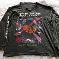 Vintage Fear Factory Soul of a new machine 1993 Australian tour longsleeve  TShirt or Longsleeve