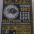 Carcass Australian tour poster Other Collectable