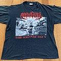 "Sepultura ""Third World Posse"" Euro tour 1992 TShirt or Longsleeve"