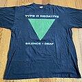 "Type O Negative - TShirt or Longsleeve - Type O Negative ""Silence=Deaf"""