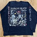 Napalm Death Campaign For Musical Destruction Europe 1992 TShirt or Longsleeve
