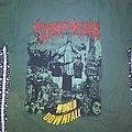 "Terrorizer ""World Downfall"" Green TShirt"