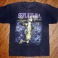 Vintage 90s Sepultura Chaos AD T-shirt