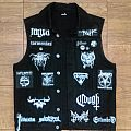 Mgła - Battle Jacket - Black Denim Vest