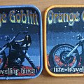 Orange Goblin - Patch - Official Orange Goblin Time Travelling Blues Woven Patch