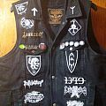 Black Metal Vest Battle Jacket