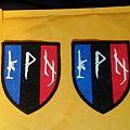 Peste Noire French Flag Shield Patches