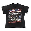 Skid Row - TShirt or Longsleeve - 1989 Skid Row - Skids Across America shirt