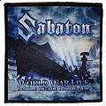 """Sabaton """"World War Live: Battle Of The Baltic Sea"""" Sublimated Patch"""
