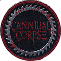 Cannibal Corpse - Patch - Cannibal Corpse 2015 N.America Tour Patch