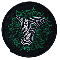 Finntroll 2003 - Official Visor Om Slutet Woven Patch