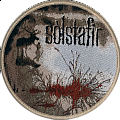 Solstafir - Patch - Sólstafir - Berdreyminn 2017 Woven Patch