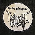 Infernal Death embroided patch RARE!