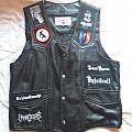 Black Metal vest Battle Jacket