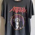 1989 Anthrax Don't You F@#K 'N Look at Me! T-Shirt