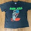 Vintage 1991 Overkill Blood Money shirt