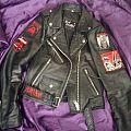 Unfinished leather Battle Jacket