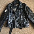 Simple Motorhead Leather Battle Jacket