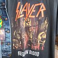 Slayer concert Reign in blood tour 1986-87 TShirt or Longsleeve